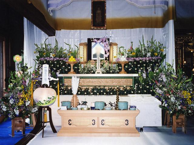 生花祭壇9尺